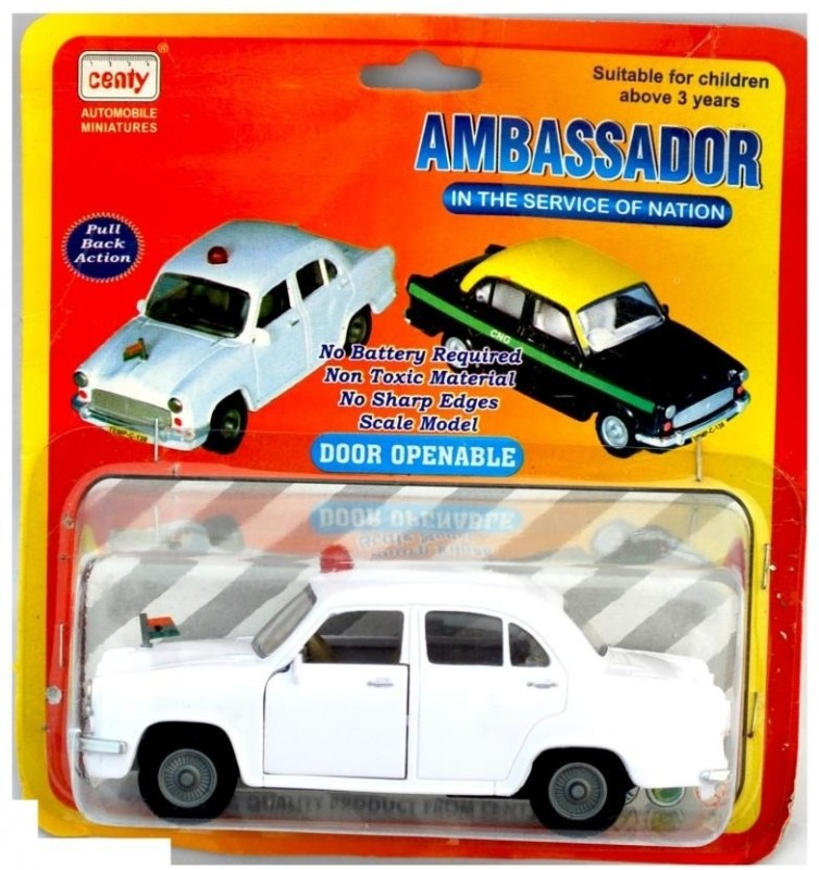 CENTY Ambassador Taxi/VIP(White, Pack of: 1)