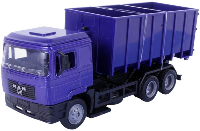 New Ray 1:43 Scale Diecast MAN F2000 Transporter Dump Truck(Blue)