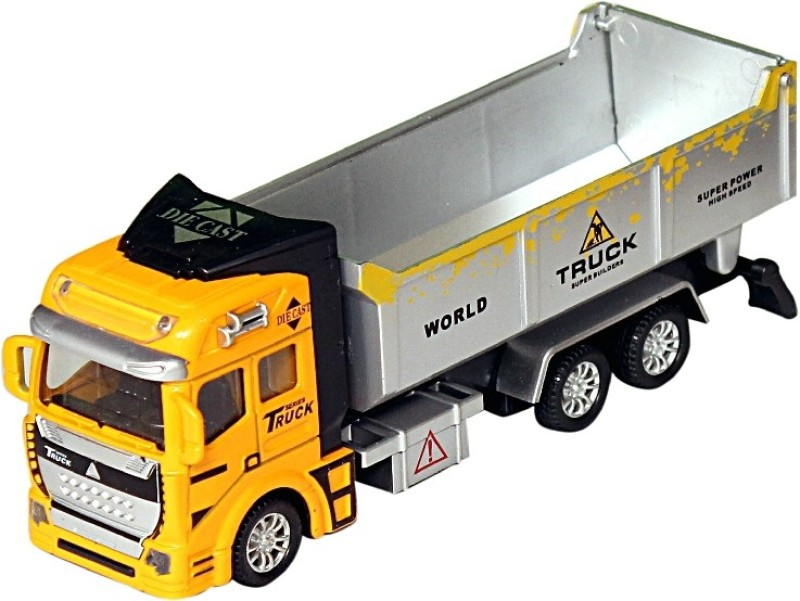 Homeshopeez Diecast Truck With Plastic Parts(Multicolor)