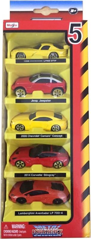 Maisto Maisto 5 Pcs. Diecast Cars Gift Set - Assortment 6(Multicolor)