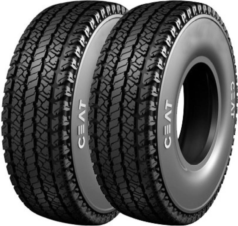 CEAT Milaze (Set of 2) 4 Wheeler Tyre(155/70R13, Tube Type)