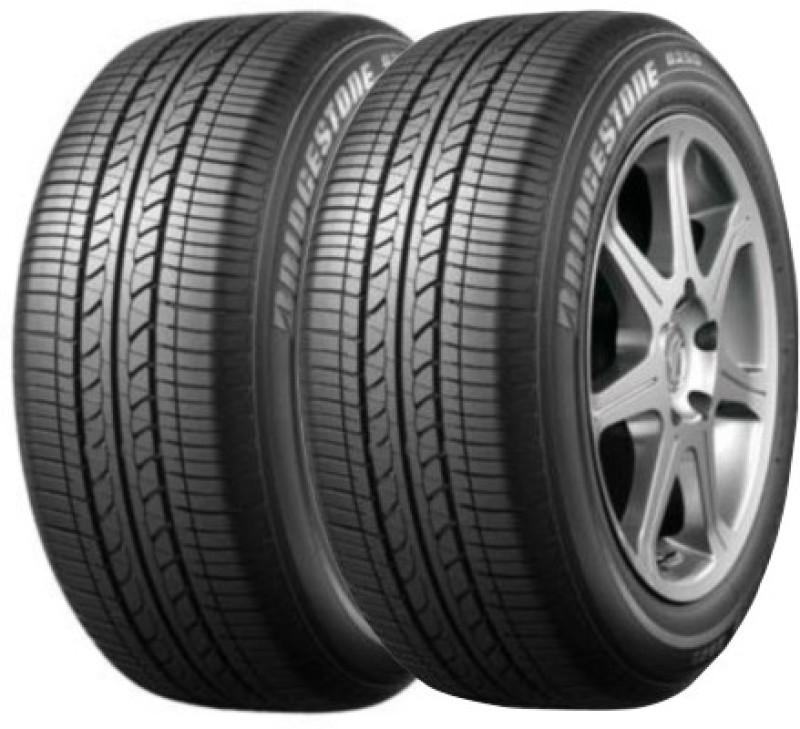 Bridgestone B250 (Set of 2) 4 Wheeler Tyre(155/80R13, Tube Less)