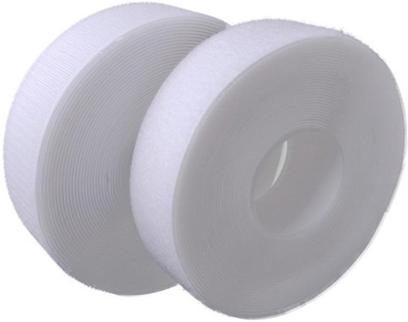 Vardhman Vardhman velcro tape industrail quality , 2 inches ( 50 m ) width, Sew-on Velcro(White)