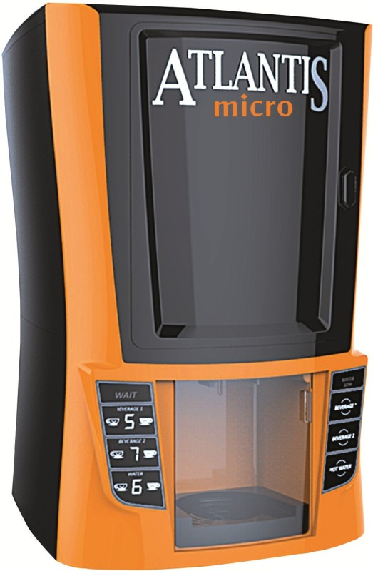 Atlantis Beverage Vending Machine(Orange, Black)