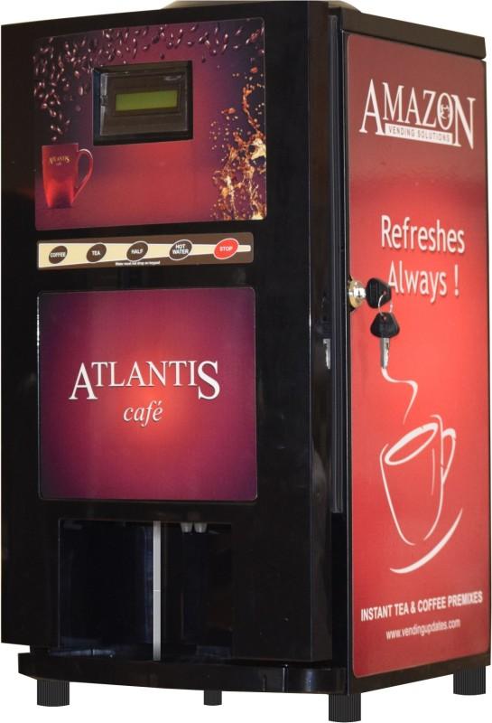 Atlantis Beverage Vending Machine(Red, Black)