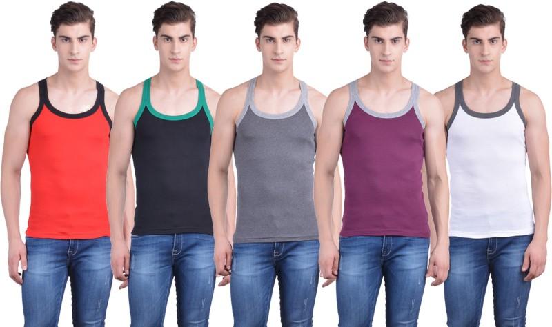 Dollar Bigboss Mens Vest(Pack of 5)