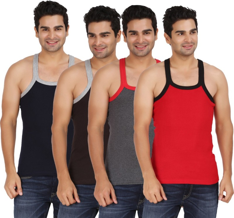 Wyatt Mens Vest(Pack of 4)