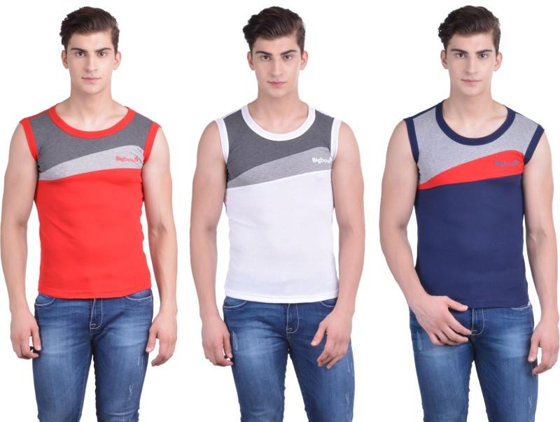 Dollar Bigboss Men's Vest(Pack of 3)