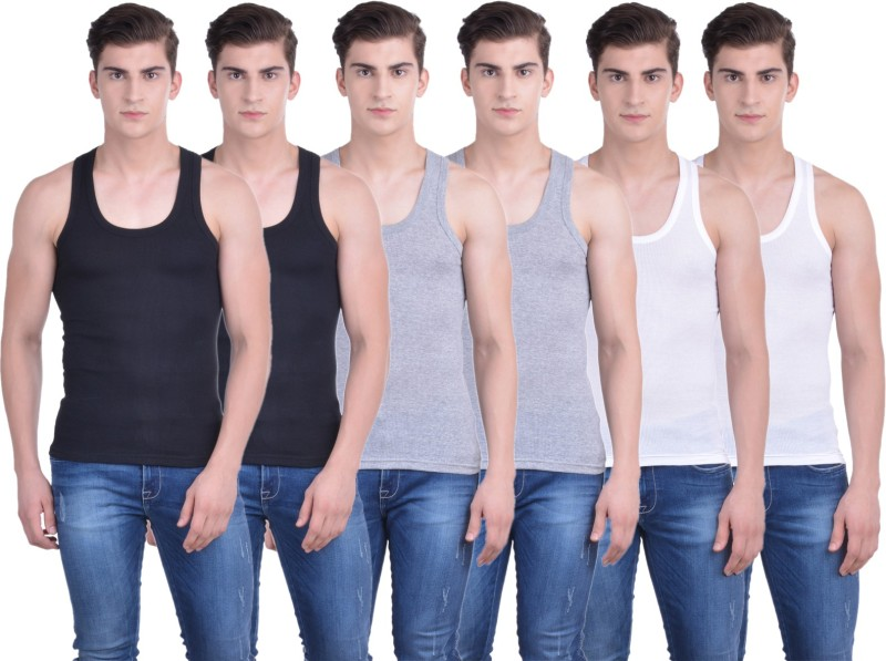 Dollar Bigboss Men's Vest(Pack of 6)
