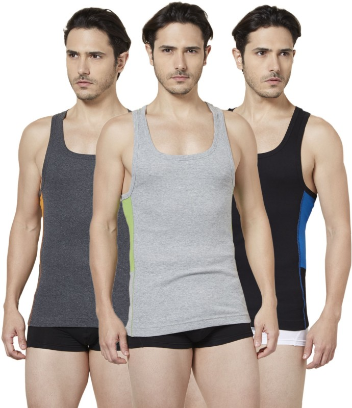 Tuna London Mens Vest(Pack of 3)