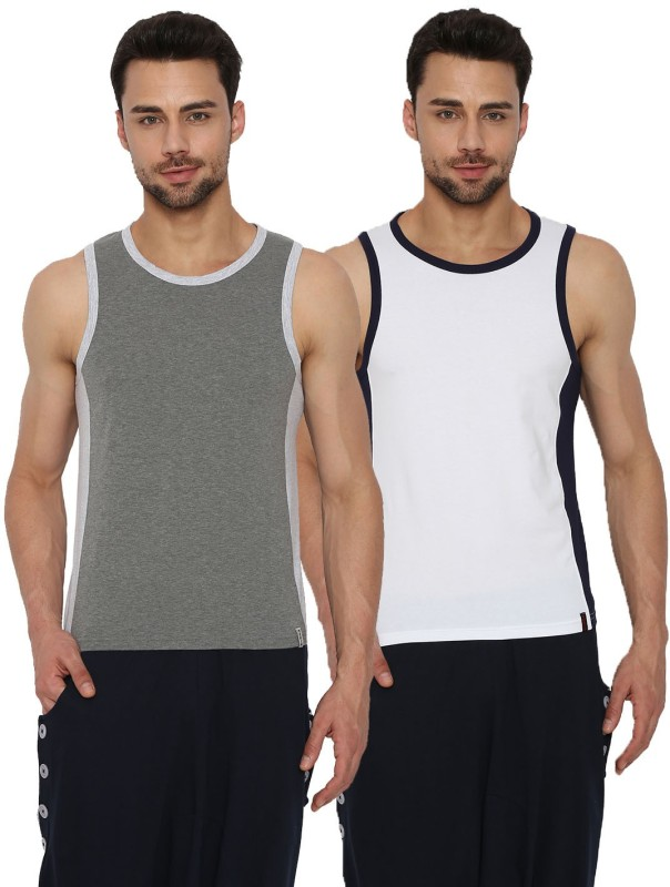 Rodid Men's Vest(Pack of 2)