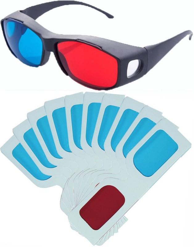 Hrinkar Updated Version Video Glasses(Black, white)