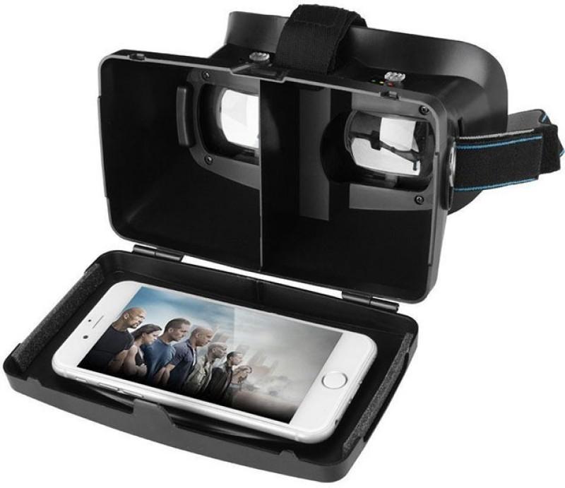 Fingers RIEM 2 Virtual Reality VR Video Glasses(Black)