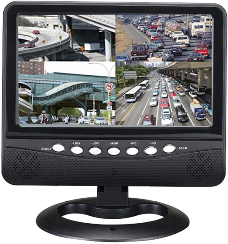 Eye Vision Portable Mini LCD LED TV With USB Multimedia 7.5 inch DVD Player(Black)
