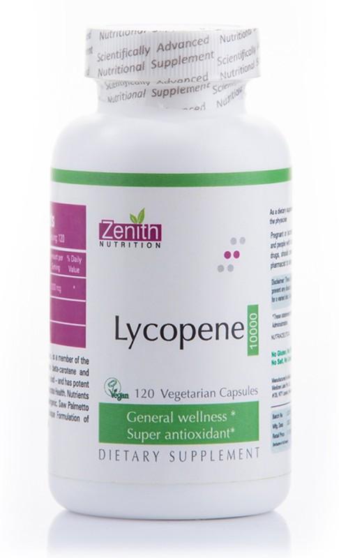 Zenith Nutrition Lycopene-10000mcg-120 Nos(120 No)