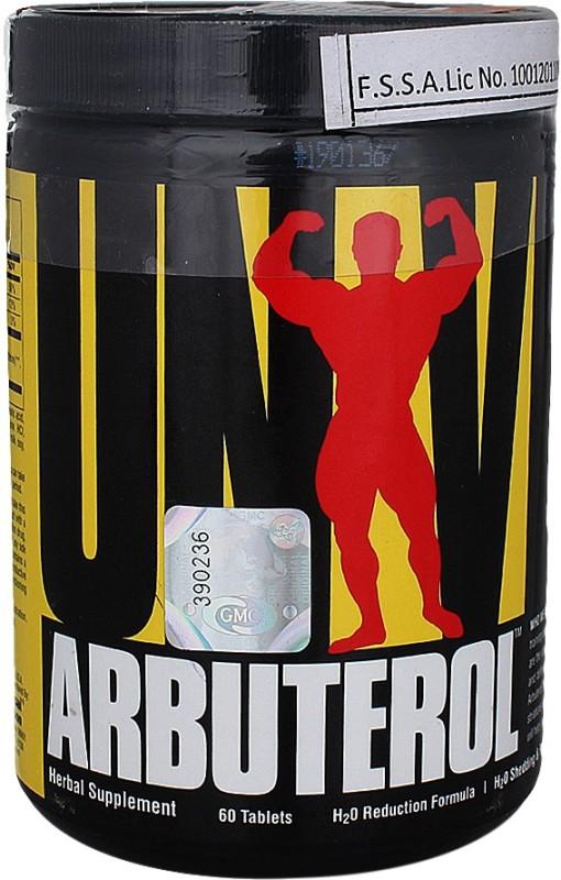Universal Nutrition Arbuterol(60 No)