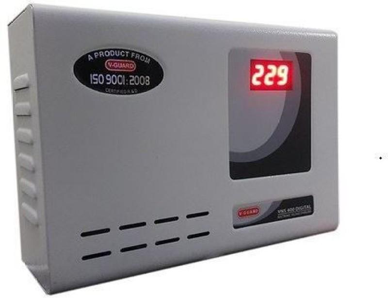 V-Guard VNS 400 Digital Display For AC upto 1.5Ton Voltage Stabilizer(Grey)