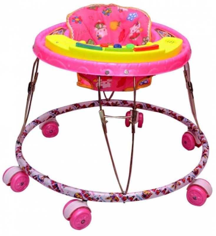 Kusum Enterprises Activity Walker(Pink)