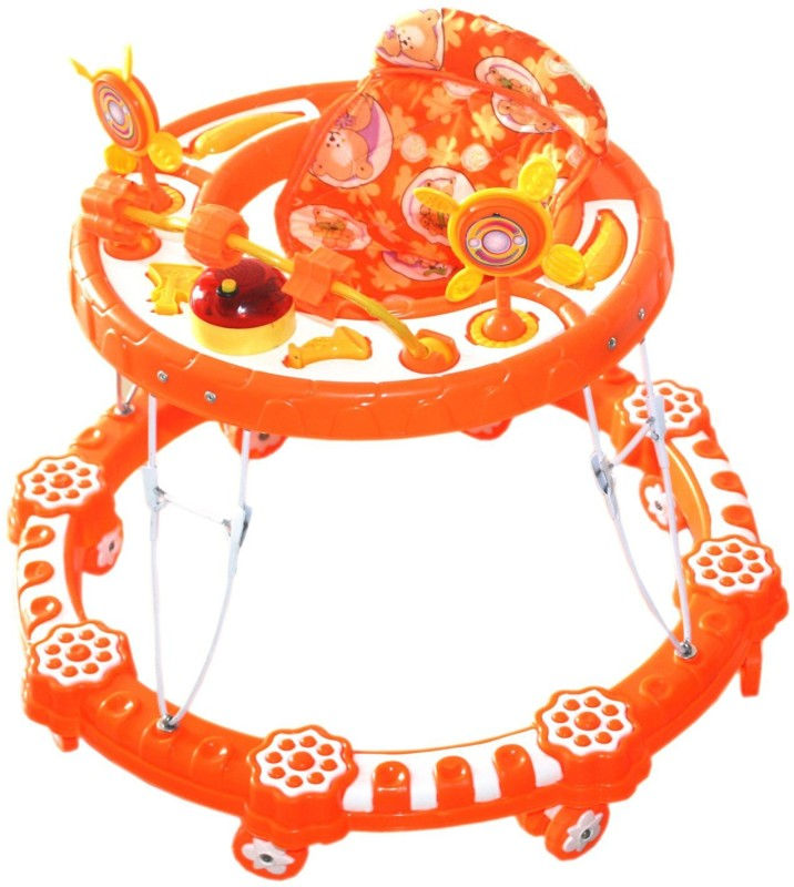 Amardeep Musical Activity Walker(Orange)
