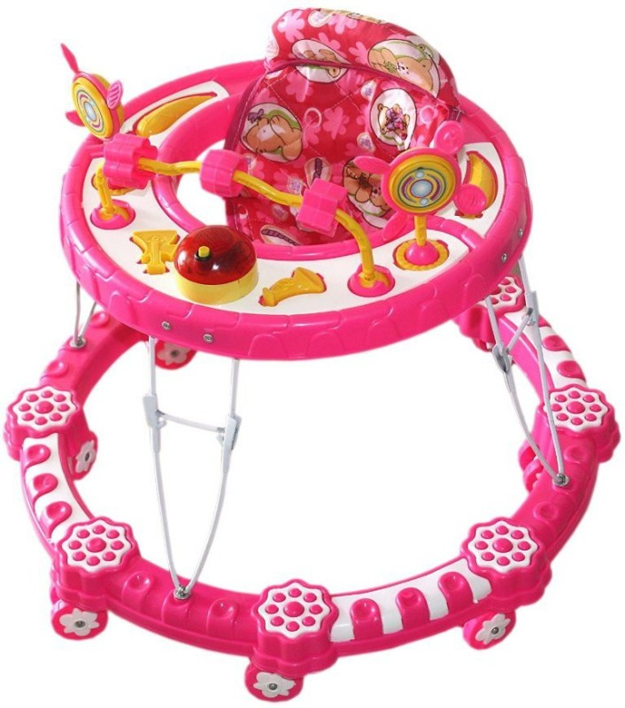 Amardeep Musical Activity Walker(Pink)