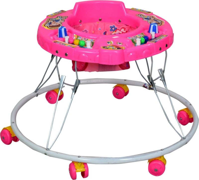 Panda Creation Walker & Rocker(Pink)
