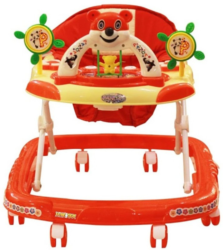 Panda Creation Musical Activity Walker(Red)