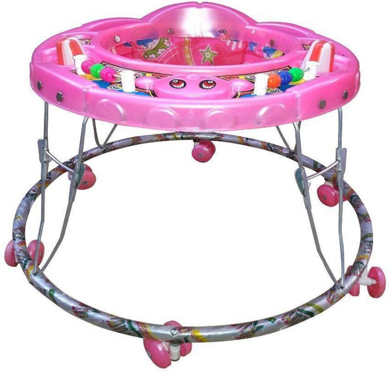 Abasr Musical 2-in-1 Walker(Pink)