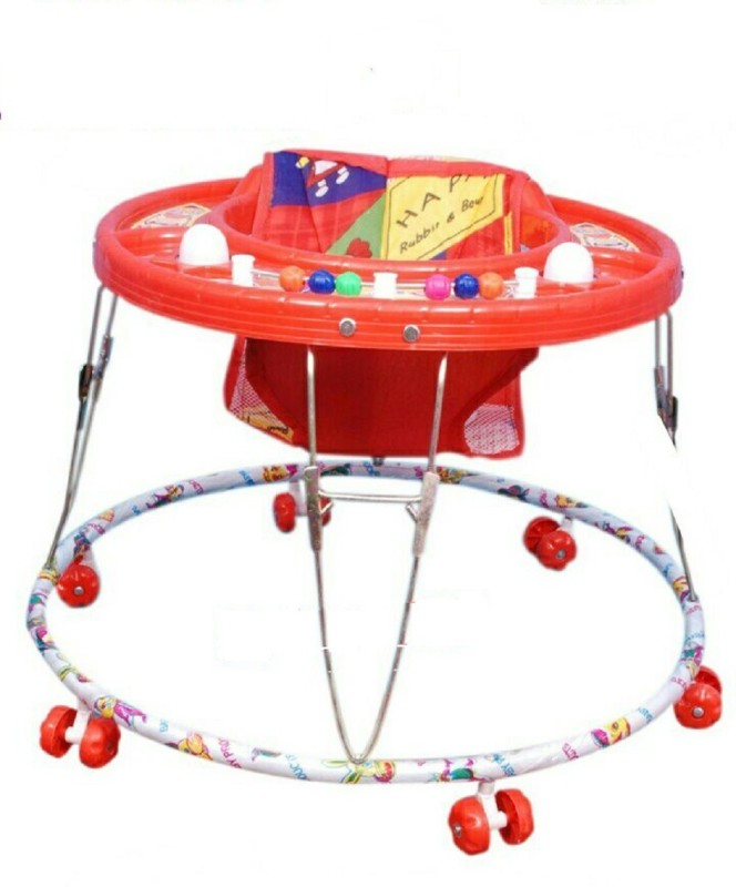 Abhiyantt 2-in-1 Walker(Red)