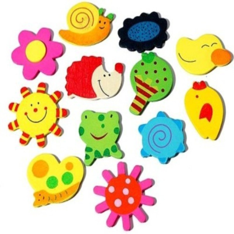 Dream Bag magnets(4 cm X cm 3, Multicolor)