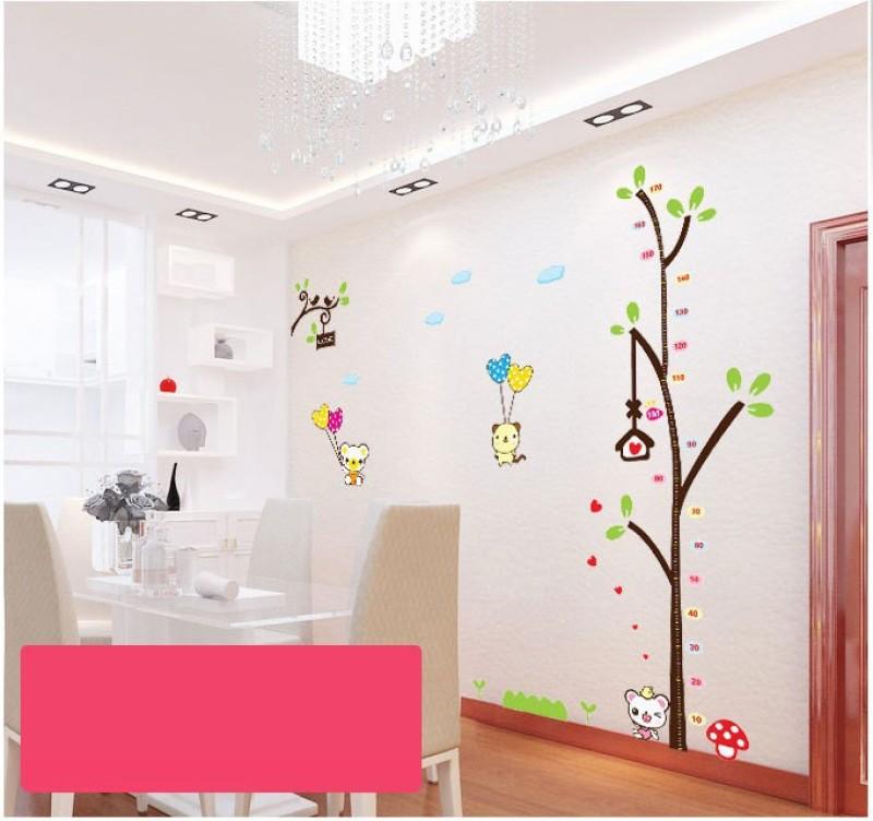 Oren Empower Charming cartoon tree large wall sticker(187 cm X cm 180, Multicolor)