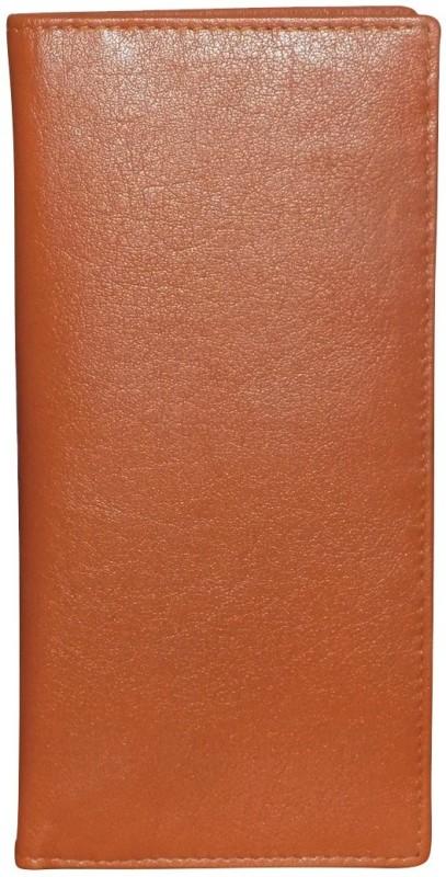 Style 98 Women Tan Genuine Leather Wrist Wallet(16 Card Slots)