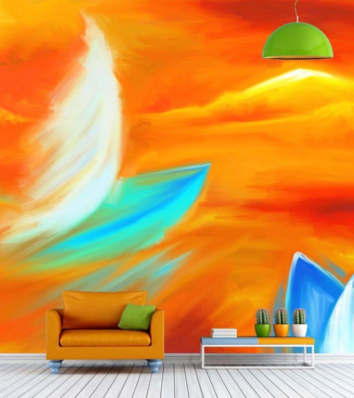 ELL DECOR Nature Wallpaper(152 cm X 152 cm)