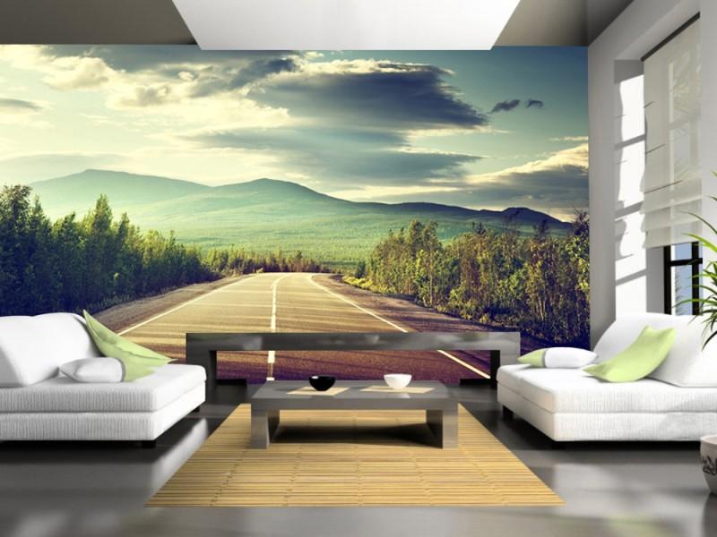 ELL DECOR Nature Wallpaper(132 cm X 198 cm)