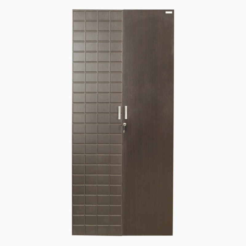 Godrej Interio CHOC 2 DR 900 W WDB WTH DWR Engineered Wood 2 Door Wardrobe(Finish Color - ColaRain)
