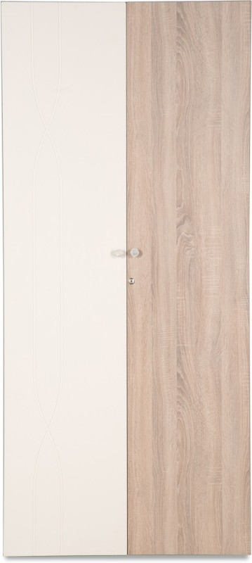 Godrej Interio Zen 900W Engineered Wood 2 Door Wardrobe(Finish Color - Sonoma Oak)