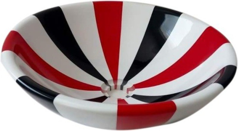 MUDIT Resin M26 Table Top Basin(Red, Black, White)