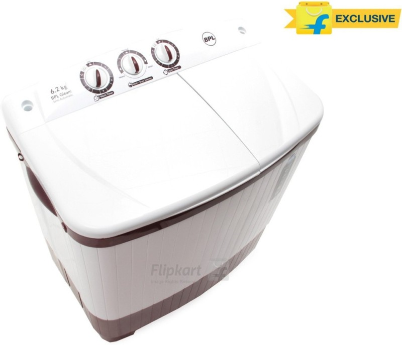 BPL 6.2 kg Semi Automatic Top Load Washing Machine(BSATL62N1)