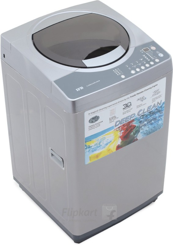 IFB 6.5 kg Fully Automatic Top Load Washing Machine Silver(TL-RDS/RDSS 6.5 kg Aqua)
