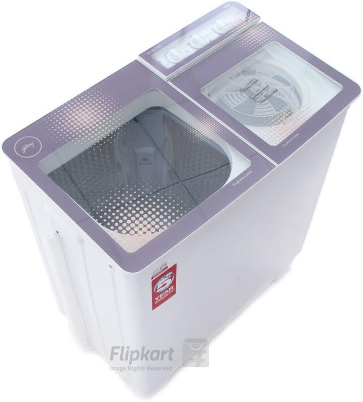 Godrej 8 kg Semi Automatic Top Load Washing Machine(WS 800...