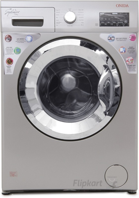 Onida 7 kg Fully Automatic Front Load Washing Machine(WOF7010LS)