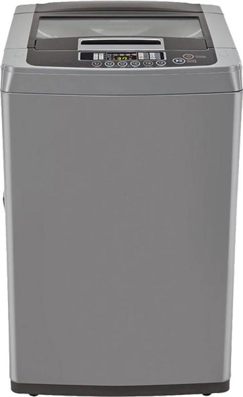 LG 6.5 kg Fully Automatic Top Load Washing Machine Grey(T7567TEDLH)