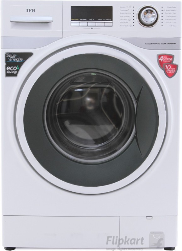 IFB 8.5 kg Fully Automatic Front Load Washing Machine White(Executive Plus VX)