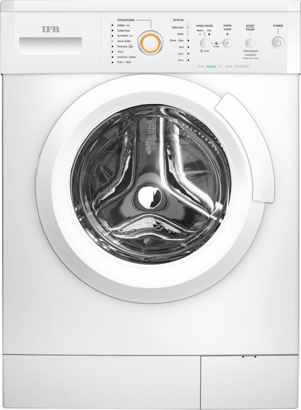 IFB 6 kg Fully Automatic Front Load Washing Machine White(EVA AQUA VX LDT)