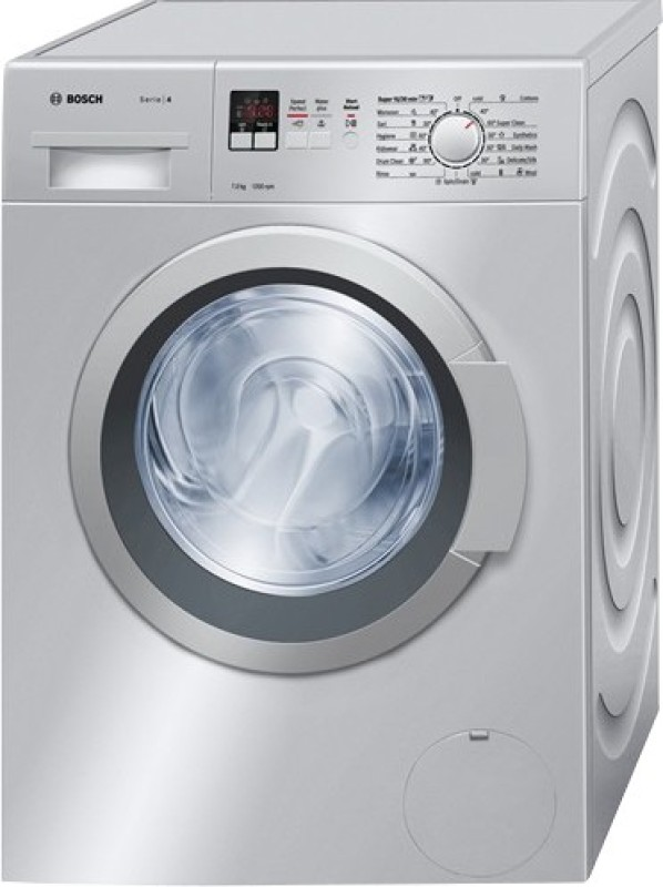 Deals - Bangalore - Bosch 7 kg Fully Automatic Front Load Washing Machine Silver <br> 2 Year Warranty<br> Category - Appliances<br> Business - Flipkart.com