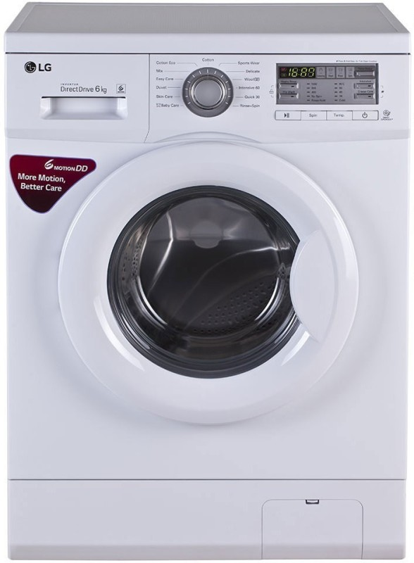 LG 6 kg Fully Automatic Front Load Washing Machine White(FH0B8NDL2)