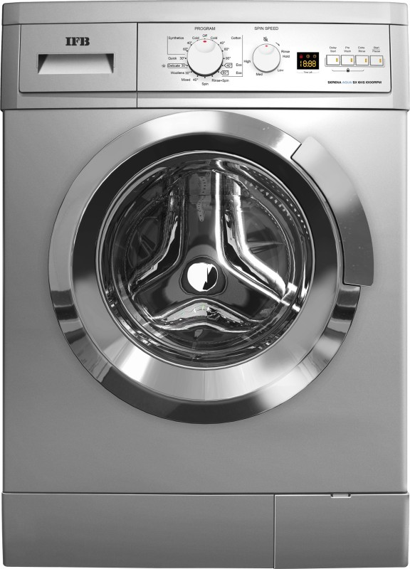IFB 6 kg Fully Automatic Front Load Washing Machine Silver(Serena Aqua SX LDT)