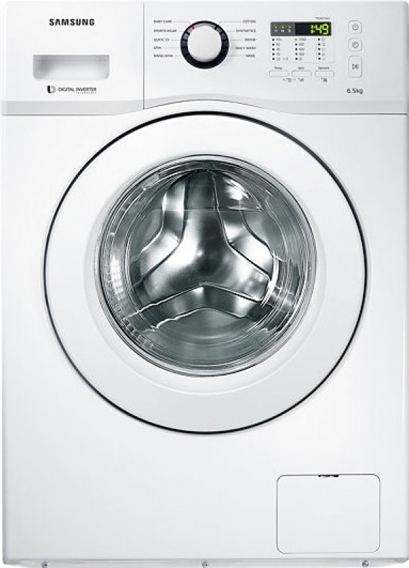 Samsung 6.5 kg Fully Automatic Front Load Washing Machine White(WF650B0STWQ/TL)