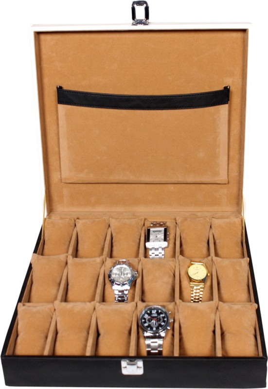 leather-world-classic-watch-boxblack-white-holds-18-watches