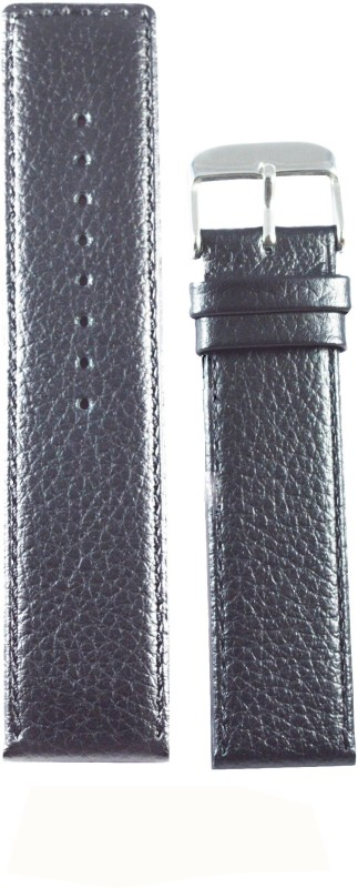 Kolet Dotted Parallel 18 mm Leather Watch Strap(Beige)