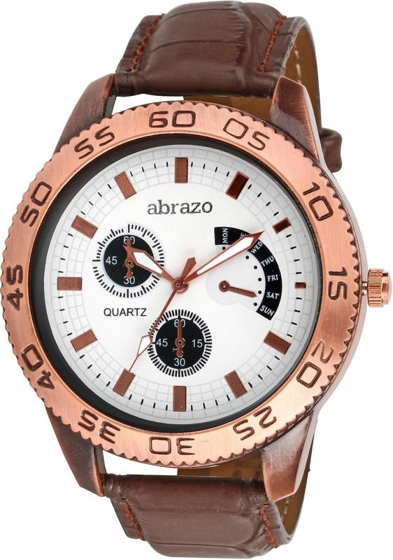 Abrazo BLt-CRONO-WH Analog Watch - For Men